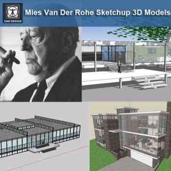 ☆Sketchup 3D models💎💎 – Download AUTOCAD Blocks,Drawings
