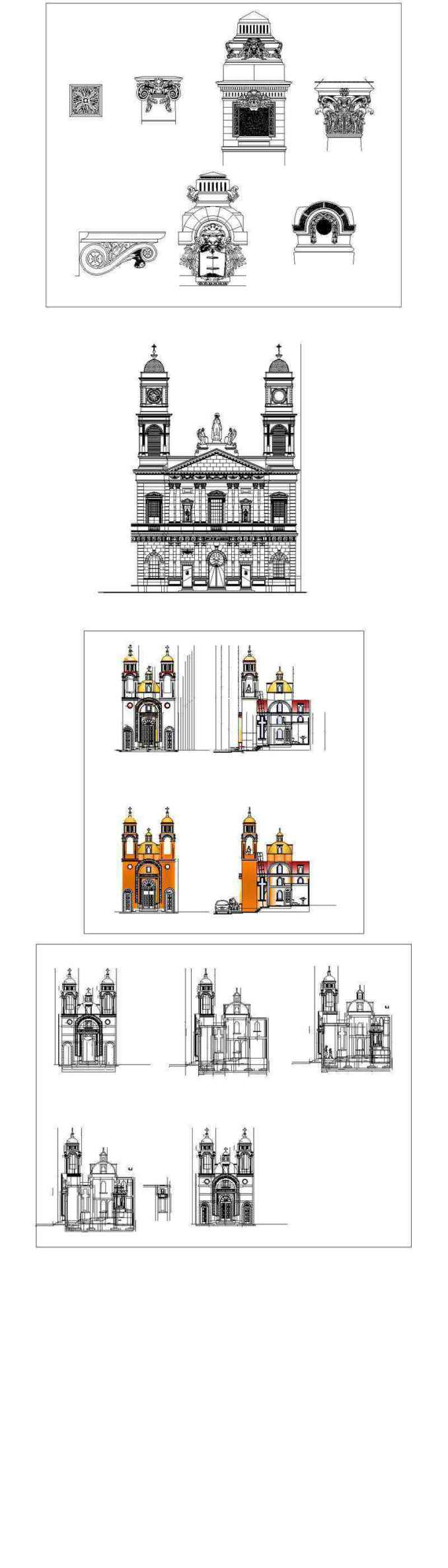 ★【Best Neoclassical Style Decor CAD Design Elements Collection】Neoclassical interior, Home decor,Traditional home decorating,Decoration@Autocad Blocks,Drawings,CAD Details,Elevation