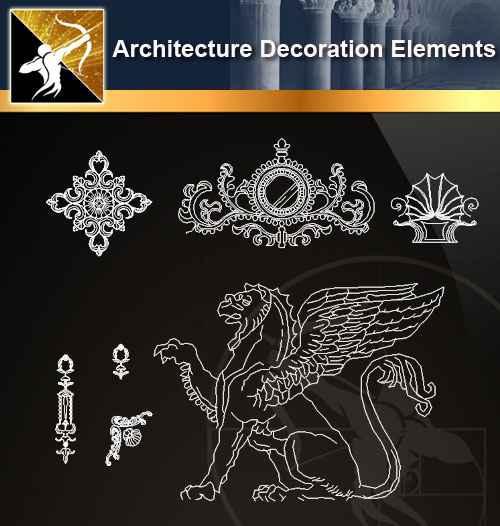 ★【 Free Architecture Decoration Elements V.6】