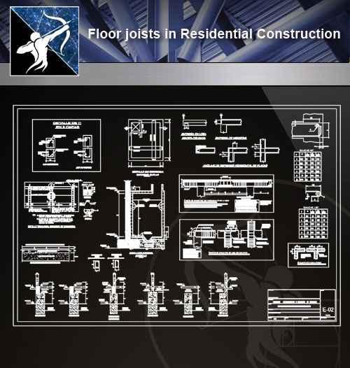 【Architecture CAD Details Collections】Flooring CAD Details V.3