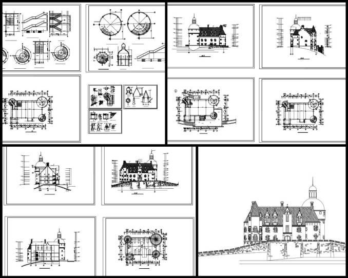 歐式裝飾元件,新古典建築室內設計裝飾構件,雕塑,水池,羅馬柱,飾角,線板,古典裝飾,雕塑,拱門,壁爐,羅馬柱,多力克柱式,愛奧尼克柱式,科林斯柱式,歐式建築,希臘建築,壁爐,頂部燈盤,壁畫,藻井,拱頂,尖肋拱頂,穹頂,掛鏡線,腰線,梁托,拱券,門,門洞,窗,牆面裝飾線條,護牆板(以參考圖例為準)