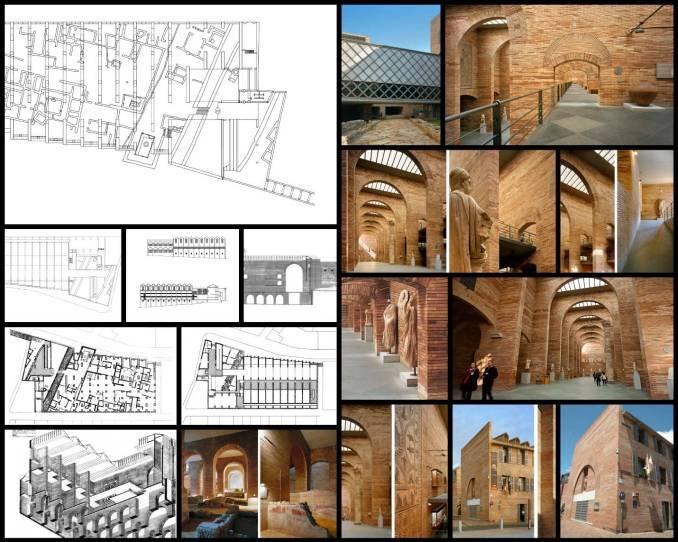 【世界知名建築案例研究CAD設計施工圖】羅馬藝術博物館Museum of Roman Art