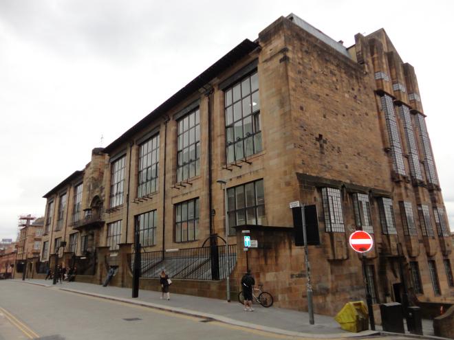 世界知名建築案例研究,CAD設計施工圖,平面圖,立面圖,剖面圖,格拉斯哥藝術學院,Glasgow School of Art,查爾斯·雷尼·麥金托什