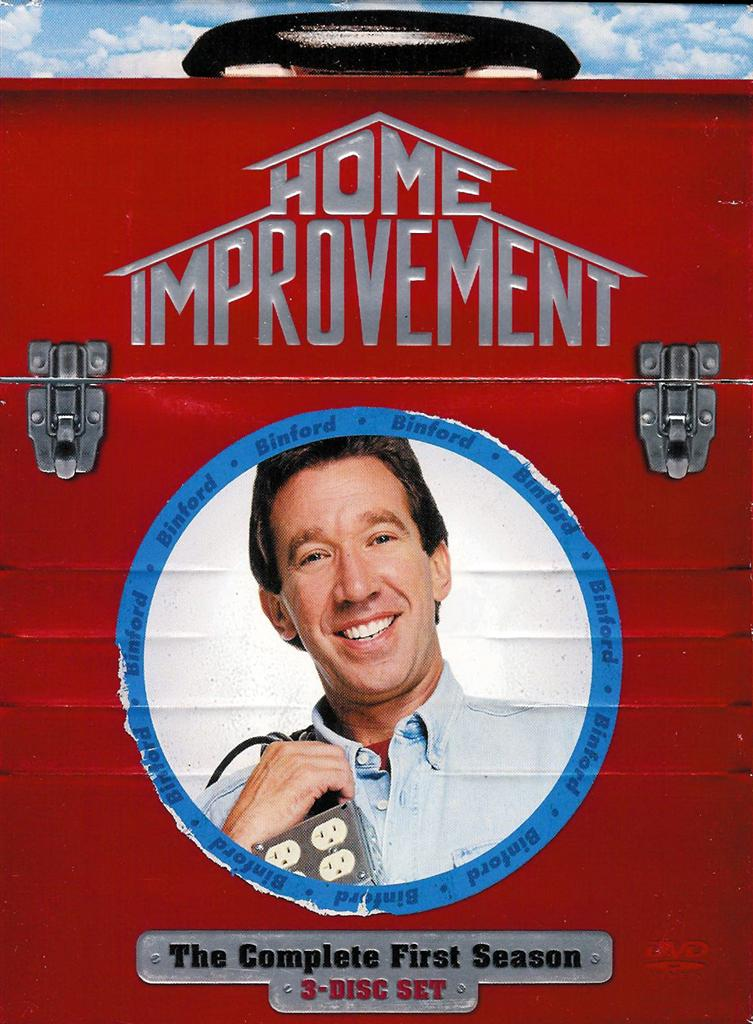 Home Improvement The Complete First Season 3 Disc Dvd Set Free Shipping 786936245844 Ebay