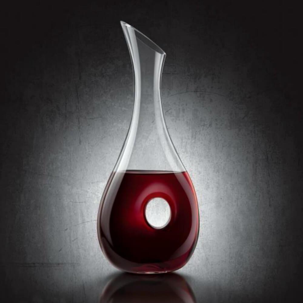 carafe a vin design en cristal