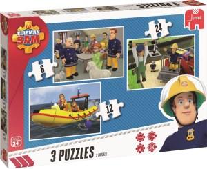 Brandweerman sam puzzel 4 jaar