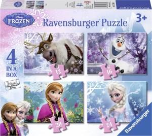 Frozen kleuter puzzel