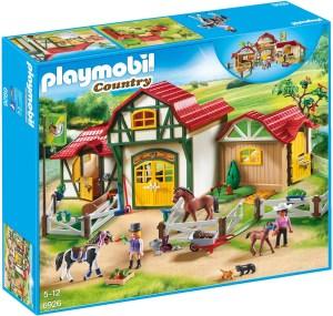 Paardrijclub playmobil