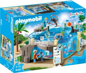 Playmobile zee aquarium