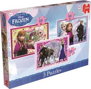 puzzel frozen 50 stukjes