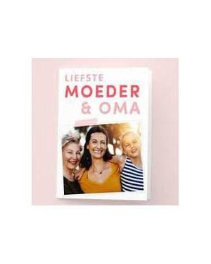 Moederdagkaart | Moeder en oma | Met foto