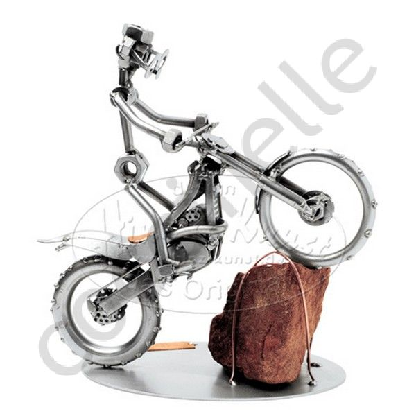 moto trial maquette hinz et kunst