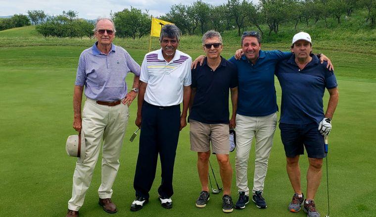 FOTO: Mauricio Macri pasará el fin de semana jugando golf en Mendiolaza.