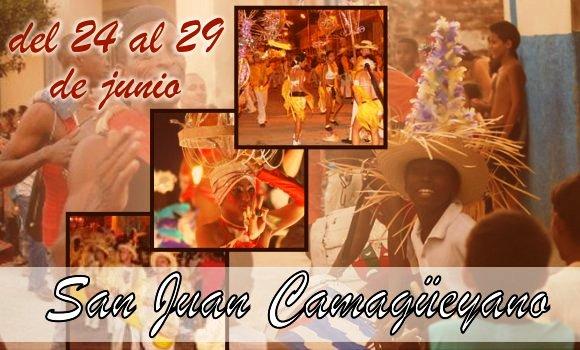 Desde el último minuto de esta noche, fiestas del San Juan camagüeyano