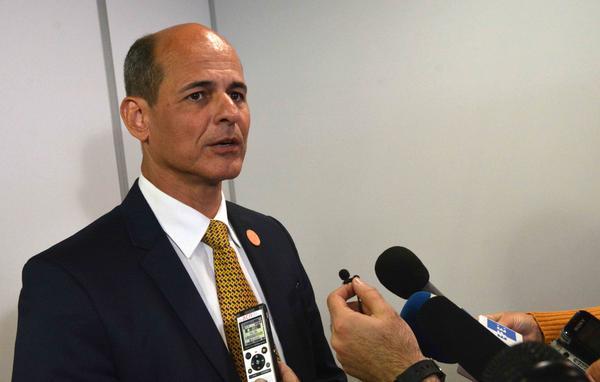 Rogelio Sierra, vicecanciller cubano.