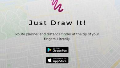"""Photo of Calcula la distancia de tus paseos con """"Just Draw It!"""""""