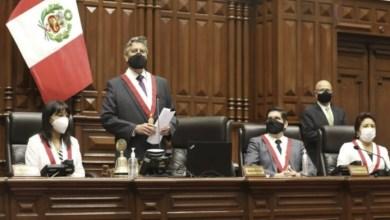 Photo of Francisco Sagasti juró y es el nuevo presidente de Perú