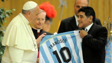 "Photo of Francisco recordó a Maradona: ""Fue un poeta en la cancha"""