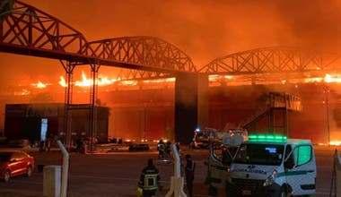 Photo of Impactante incendio arrasó parte del Autódromo de Termas de Río Hondo