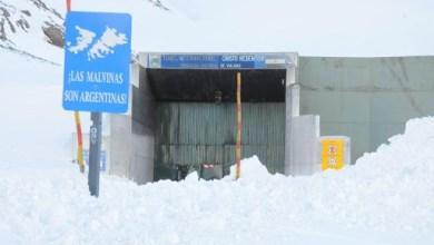 Photo of Cerraron el paso internacional Cristo Redentor por nevadas en alta montaña