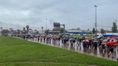 Photo of Cientos de personas marcharon a favor del hombre que atropelló a dos ladrones