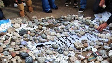 """Photo of Nueva """"Marcha de las Piedras"""" por los fallecidos de coronavirus"""