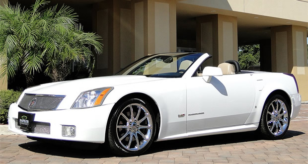 2008 Cadillac XLR-V Tech Center