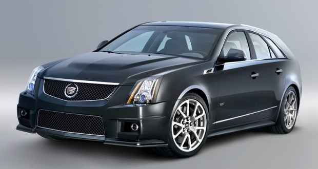2012 Cadillac CTS-V Wagon Highlights