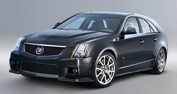 2012 Cadillac CTS-V Wagon Highlights