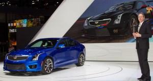 European Premiere of Cadillac ATS-V and CTS-V Geneva Motor Show 2015
