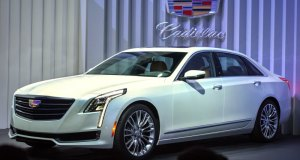 Cadillac unveils the CT6 sedan – its top of the range entry into the global prestige luxury segment – Tuesday, March 31, 2015 at a special event on the eve of the New York International Auto Show in New York, New York. Cadillac has focused on three pillars to deliver a CT6 dynamic experience with higher levels of presence, elegance and technological innovation, to help elevate Cadillac around the world. (Photo by Steve Fecht for Cadillac)