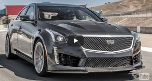 2016 Cadillac CTS-V Hot Lap! - 2015 Best Driver's Car Contender