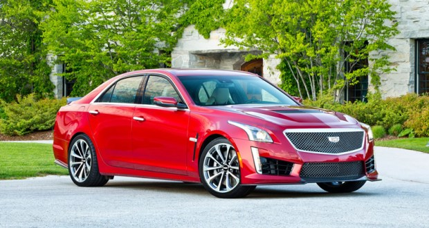 The 2016 CTS-V is the third generation of Cadillac's high-performance sedan. Source: Cadillac