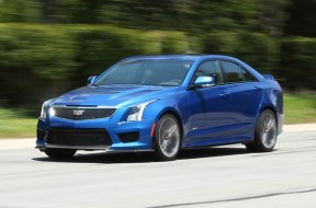 Car and Driver Reviews the 2016 Cadillac ATS-V Sedan Manual