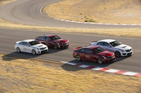 Introducing the Cadillac V-Performance Academy driving experience at Spring Mountain Motor Resort and Country Club near Las Vegas, NV. The two-day driver training program will be included in the purchase of any of Cadillac's high-performance V-Series models: 2017 Cadillac ATS-V sedan and Coupe and 2017 Cadillac CTS-V super sedan.