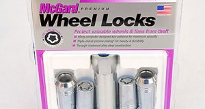 "A set of McGard ""Tuner"" locks for ATS-V and CTS-V. Each set of McGards comes with four wheel locks and one lock key. Additional keys can be ordered from McGard. Ordering instructions are included with the locks. Image: Author."