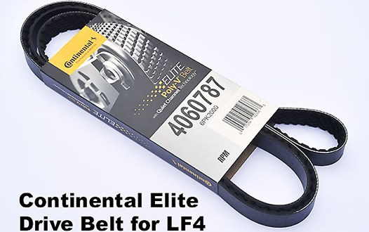 [Product Review] Continental Elite Poly-V Drive Belts