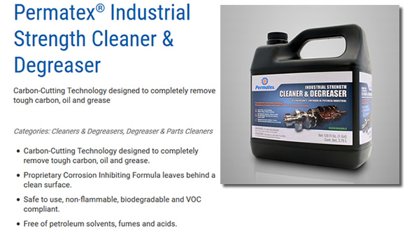 Permatex® Industrial Strength Cleaner & Degreaser
