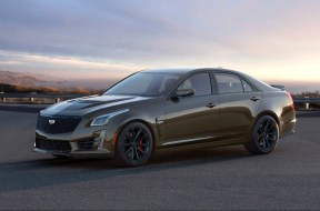 The exclusive 2019 Cadillac Pedestal Edition ATS-V Coupe and CTS