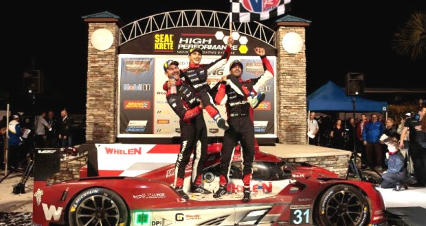 Whelen Engineering Cadillac Wins Sebring - Cadillac Sweep