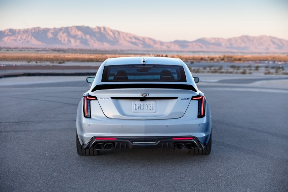The CT5-V Blackwing will be the most powerful and fastest Cadillac ever. Descended from the brand's racing legacy, this vehicle elevates V-Series' heritage of performance, styling and meticulous refinement.