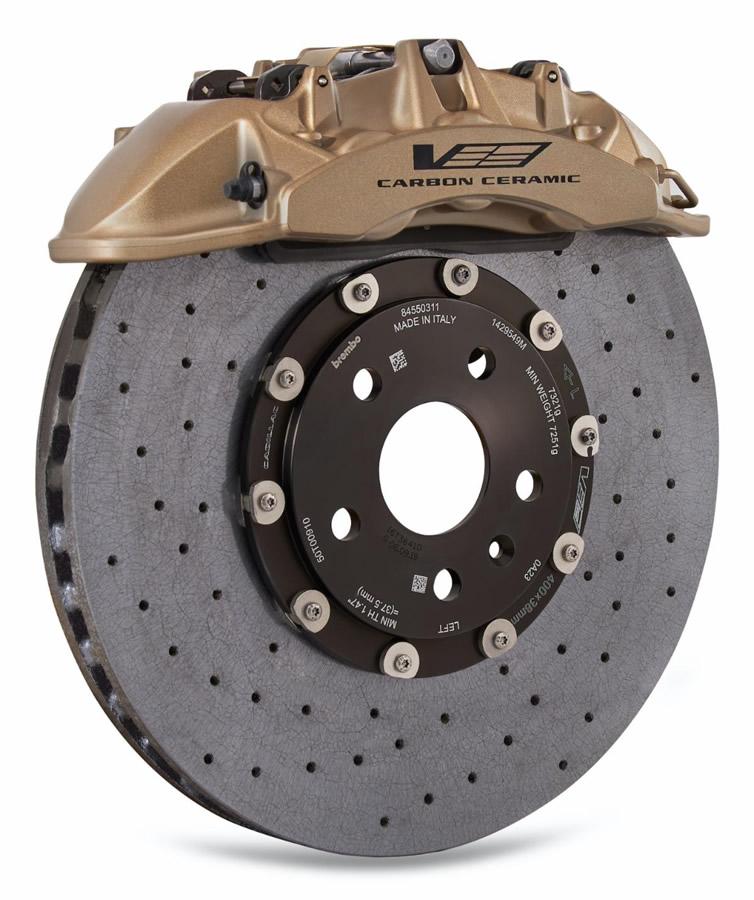 Brembo Carbon Ceramic Brakes for the V-Series