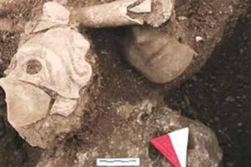 Restos arqueológicos encontrados