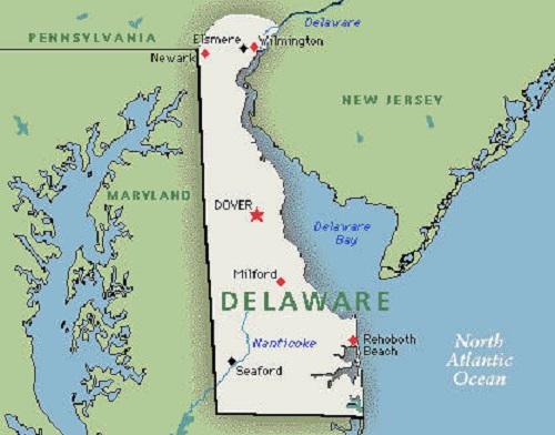 Estado de Delawe en los Estados Unidos