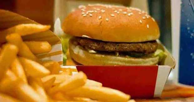 hamburguesa ADN rata