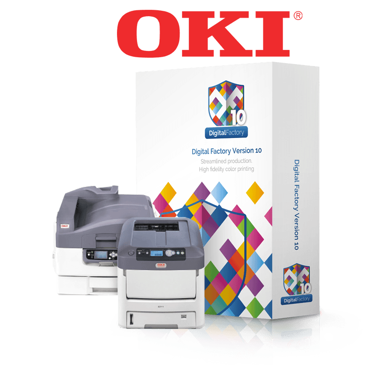 Digital Factory, OKI, Heat Transfer Printing Software, Toner Transfer Printing Software, Dye Sublimation Printing Software, Personalization And Customization Software, Transfer Media Printing Software