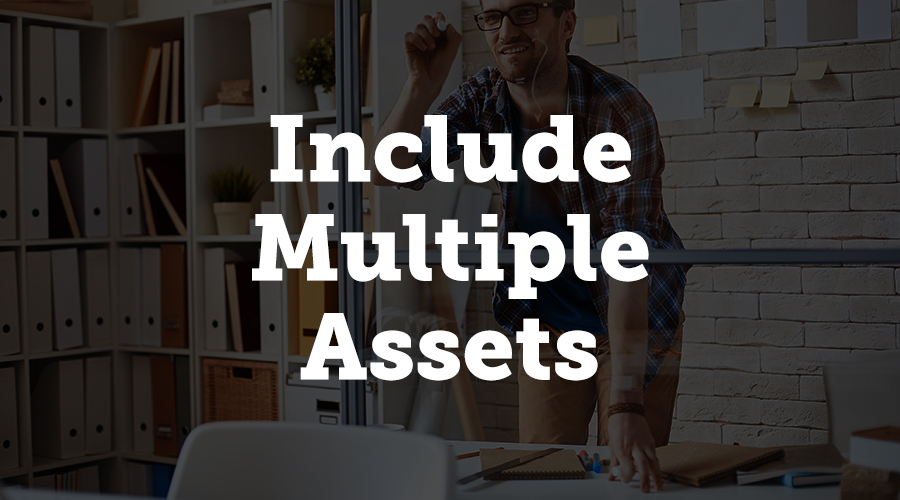 Include Multiple Assets