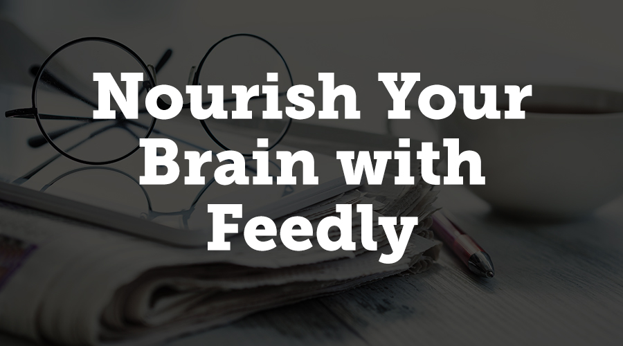 Feedly is an RSS reader, capable of housing online content that you care about. You can add your publications, favorite industry blogs and portals, and even YouTube channels to Feedly. And getting started is ABC-easy.