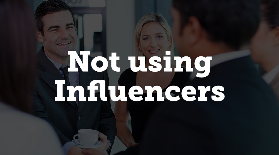If you're putting on a large conference, identify a few key influencers to assist with marketing. Invite a few into an inner circle, and make sure that each will bring a number of people.