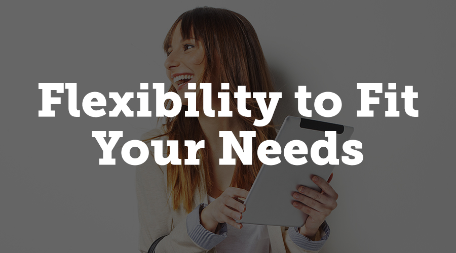 Perhaps the most important thing to look for in event management software is flexibility.